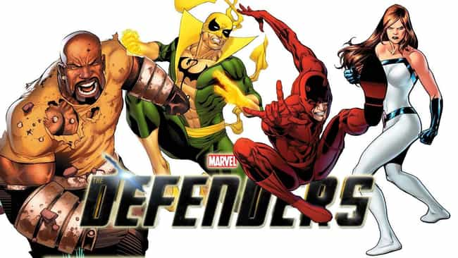 Defenders is listed (or ranked) 4 on the list Live Action Comic Book TV Shows You're Most Excited For