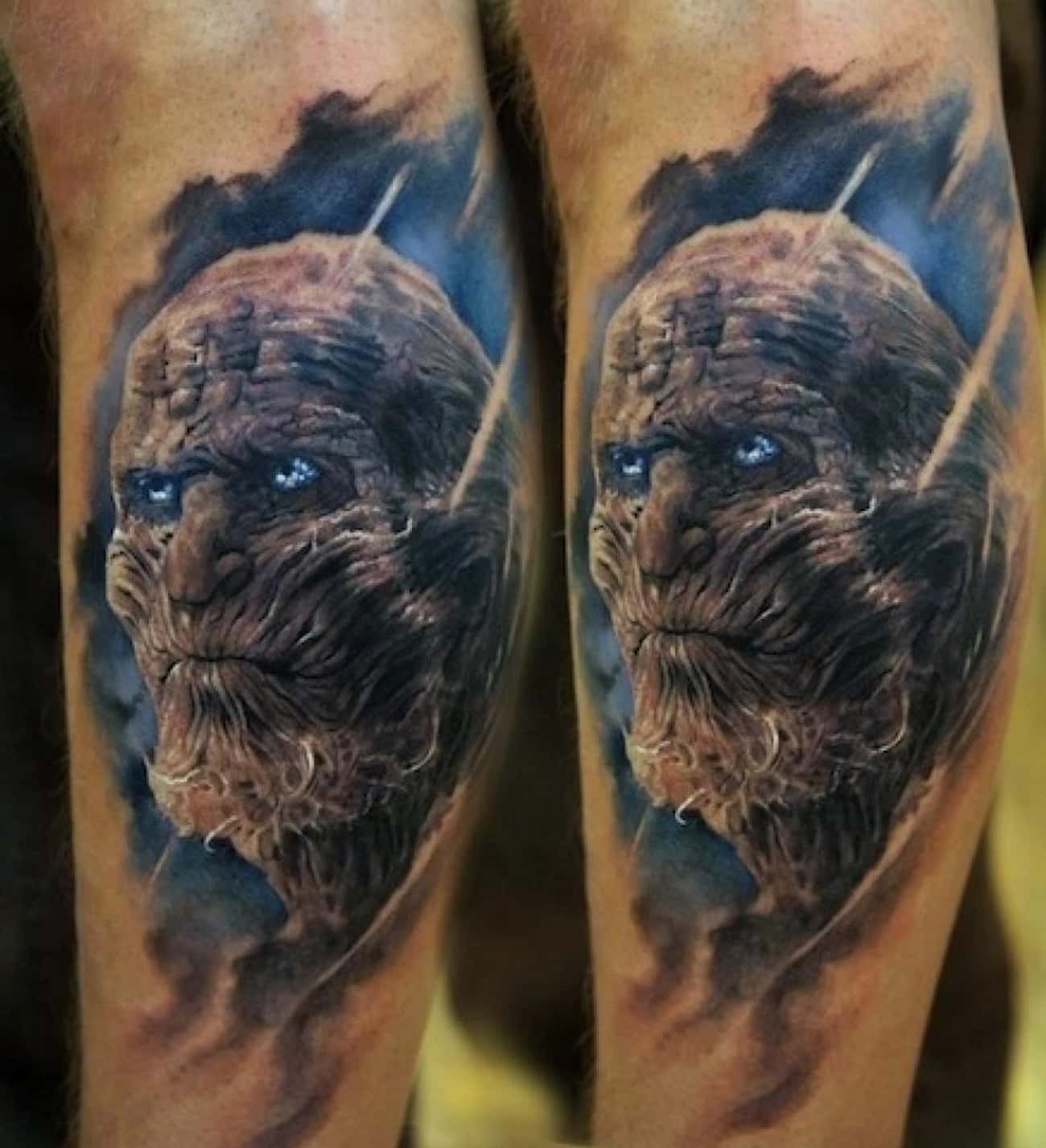 Whitewalker is listed (or ranked) 3 on the list The Coolest Game of Thrones Inspired Tattoos