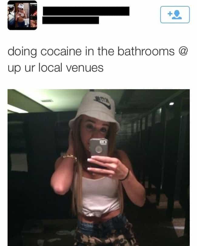 I'm in Ur Venues, Doin Ur Coke