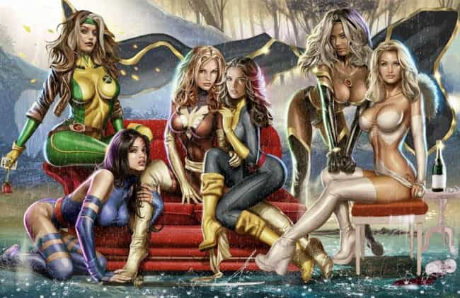 Greg Horn is listed (or ranked) 1 on the list 52 Artists Who Draw The Absolute Sexiest Superheroines