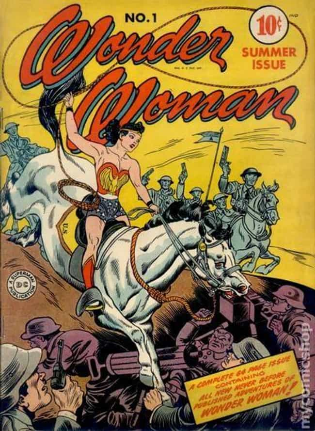 Wonder Woman #1 is listed (or ranked) 2 on the list The 100 Best Comic Book Covers of the 1940s