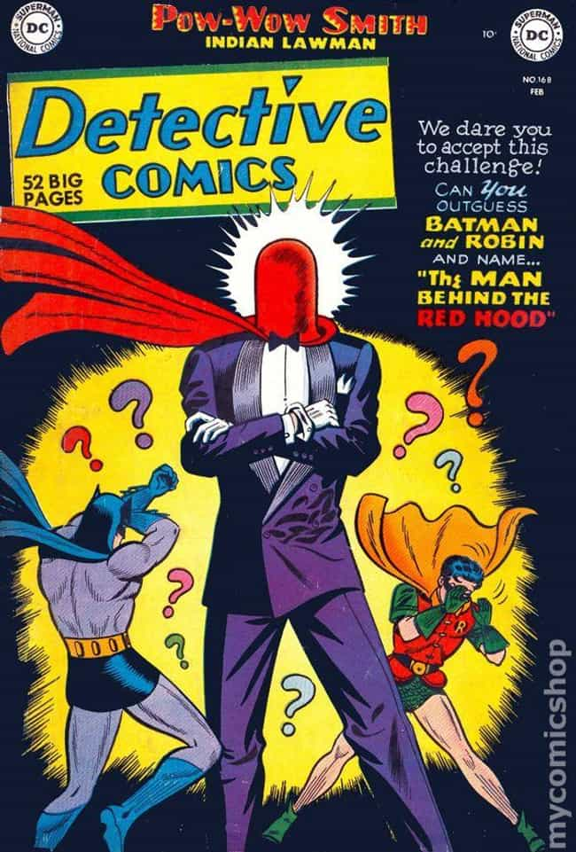 Detective Comics #168 is listed (or ranked) 1 on the list The 100 Best Comic Book Covers of the 1950s
