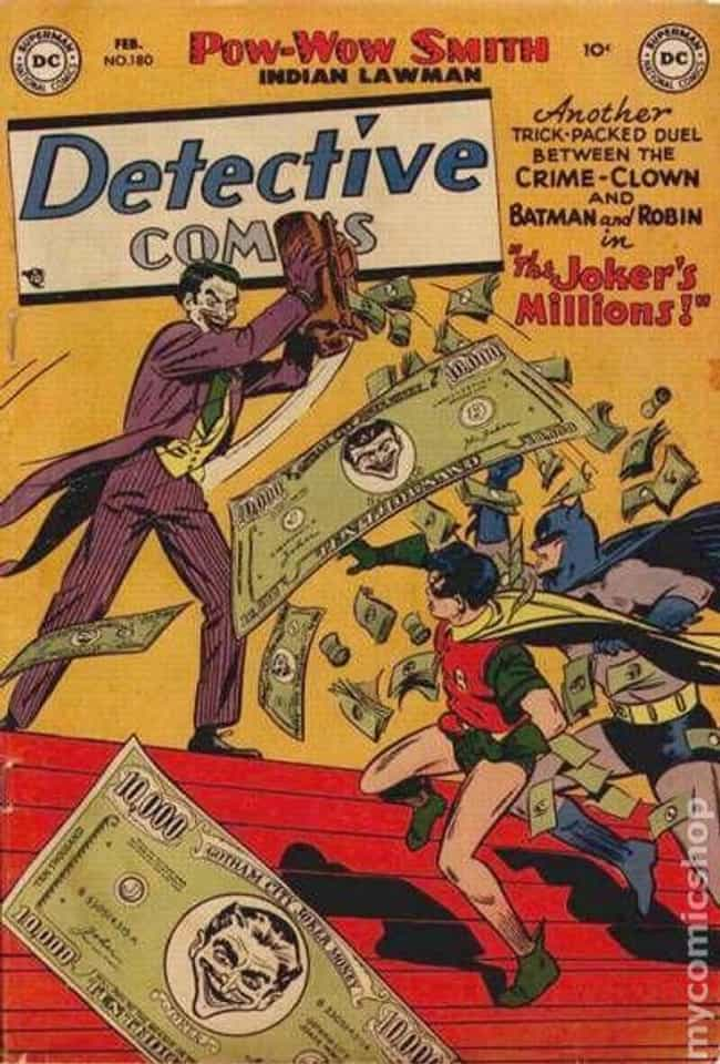 Detective Comics #180 is listed (or ranked) 4 on the list The 100 Best Comic Book Covers of the 1950s