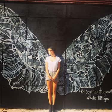 Angel Wings In The City Of Ang is listed (or ranked) 2 on the list The Best of Taylor Swift's Instagram