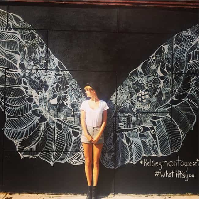 Angel Wings In The City Of Ang... is listed (or ranked) 2 on the list The Best of Taylor Swift's Instagram