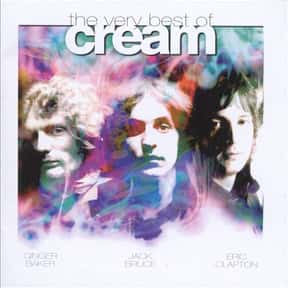 The Very Best of Cream is listed (or ranked) 19 on the list The Greatest Guitar Rock Albums of All Time
