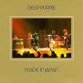 Live in Japan is listed (or ranked) 3 on the list The Best Deep Purple Albums of All Time