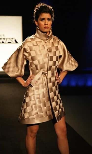 Korto Momolu's Seat Belt Coat is listed (or ranked) 1 on the list The Most Memorable Project Runway Looks