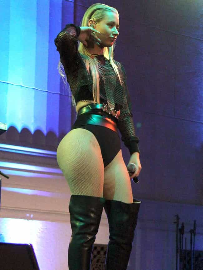 Her Ass Is Busting Out of Thos... is listed (or ranked) 6 on the list 25 Pics Of Iggy Azalea's Amazing Ass