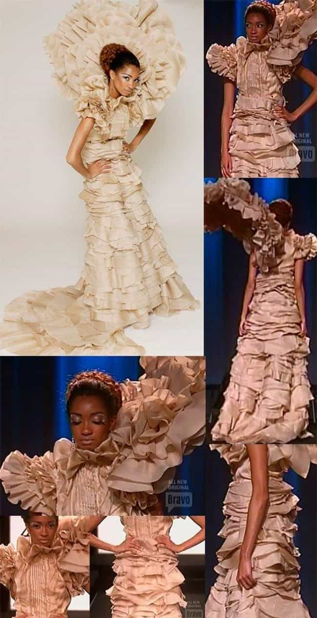 Christian Siriano and Ch... is listed (or ranked) 1 on the list The Most Memorable Project Runway Looks