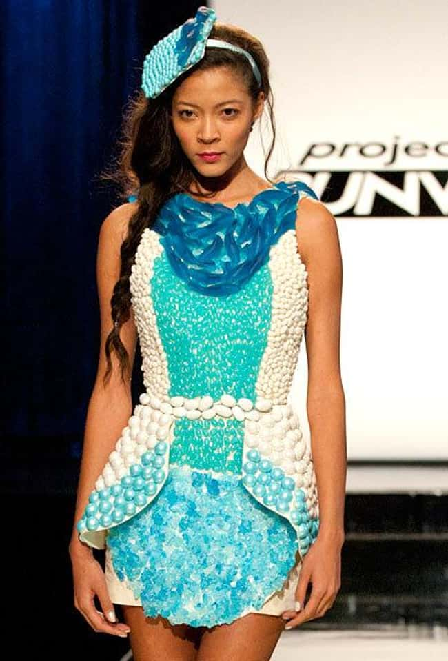 Sonjia Williams's Aquatic- is listed (or ranked) 10 on the list The Most Memorable Project Runway Looks
