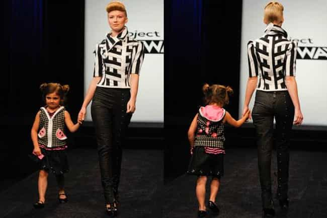 Seth Aaron Henderson Mot... is listed (or ranked) 4 on the list The Most Memorable Project Runway Looks