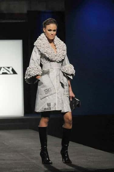 Irina Shabayeva's Newspaper Co is listed (or ranked) 2 on the list The Most Memorable Project Runway Looks