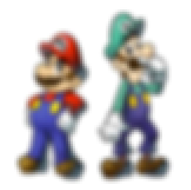 Mario and Luigi is listed (or ranked) 1 on the list The Greatest Brothers in Video Game History