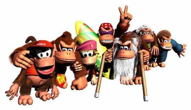The Kong Klan is listed (or ranked) 4 on the list The Greatest Brothers in Video Game History