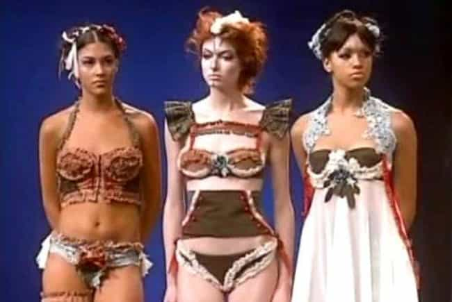 Santino's Gingerbread Li... is listed (or ranked) 3 on the list The Worst Project Runway Looks Ever