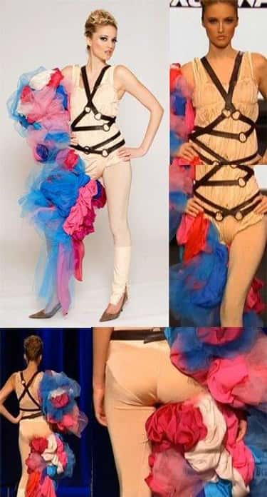Blayne Walsh's Rainbow Torture is listed (or ranked) 1 on the list The Worst Project Runway Looks Ever