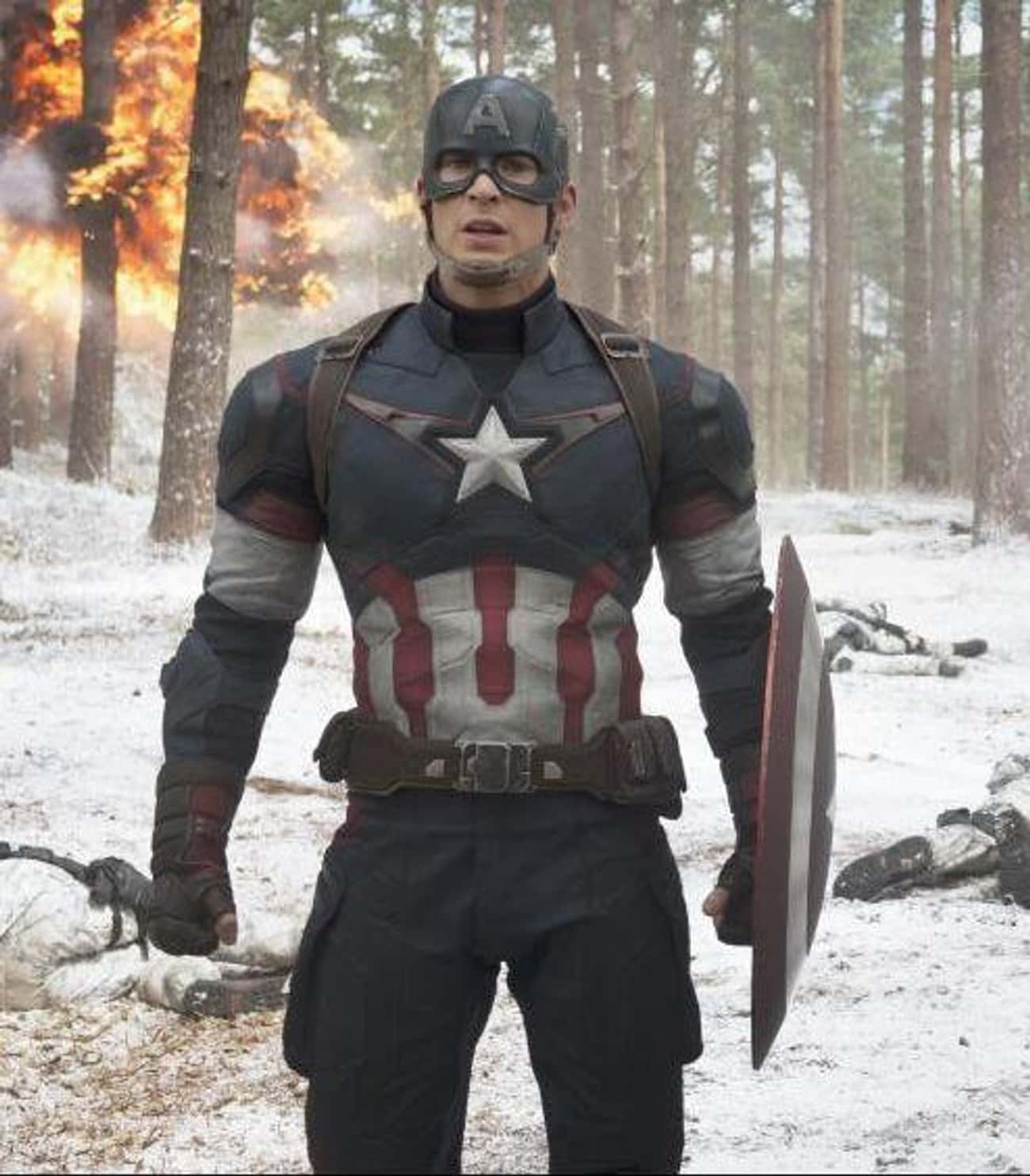 Captain America — Captain Amer is listed (or ranked) 4 on the list The Best Marvel Costume Adaptations Ever