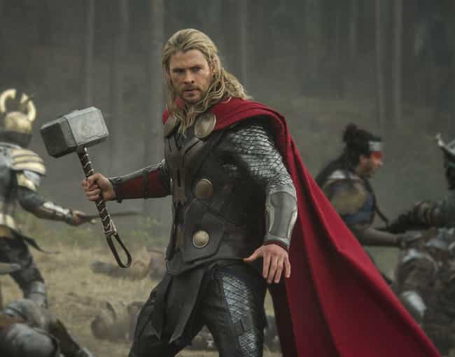 Thor — Thor: Dark World is listed (or ranked) 4 on the list The Best Marvel Costume Adaptations Ever