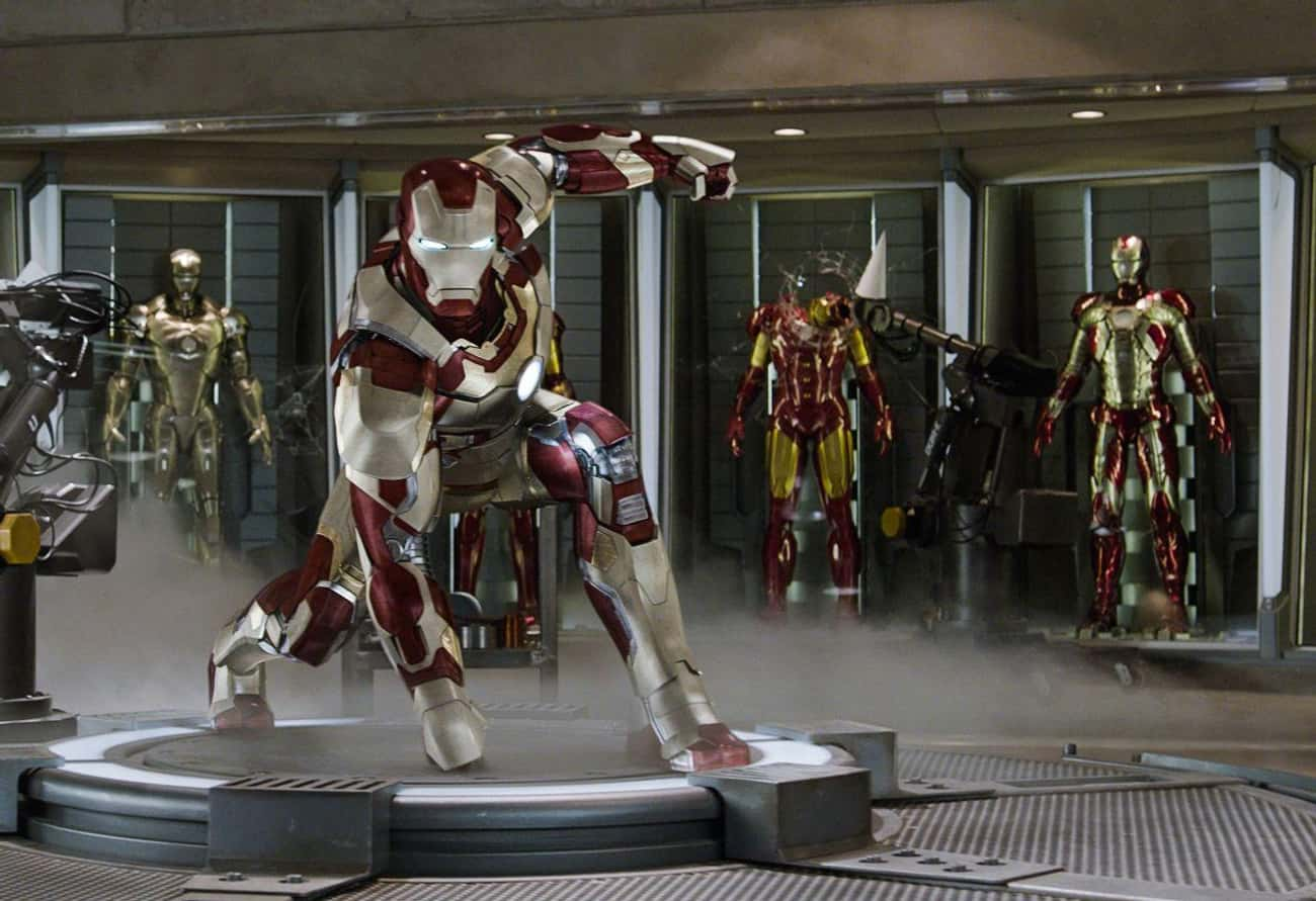Iron Man — The Avengers, Iron  is listed (or ranked) 2 on the list The Best Marvel Costume Adaptations Ever