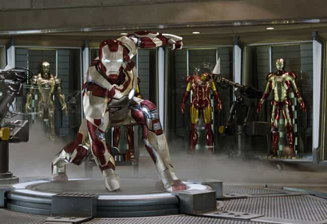 Iron Man — The Avengers,... is listed (or ranked) 1 on the list The Best Marvel Costume Adaptations Ever