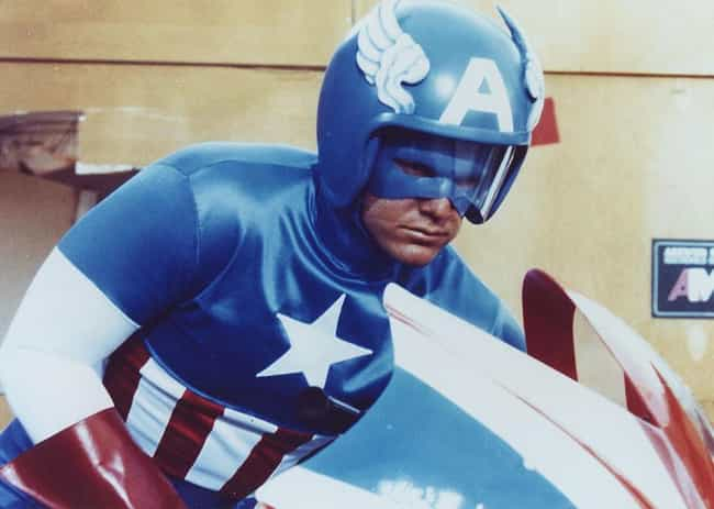Captain America - Captain Amer... is listed (or ranked) 4 on the list The Worst Marvel Costume Adaptations