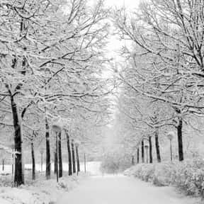 Scenery is listed (or ranked) 3 on the list The Very Best Things About Winter