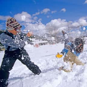 Snow Ball Fights is listed (or ranked) 23 on the list The Very Best Things About Winter