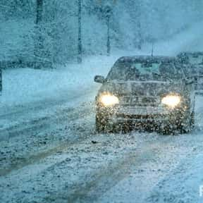 Driving is listed (or ranked) 12 on the list The Absolute Worst Things About Winter