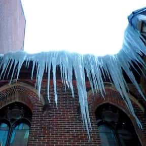Hazardous Icicles is listed (or ranked) 25 on the list The Absolute Worst Things About Winter