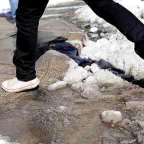 Slush is listed (or ranked) 13 on the list The Absolute Worst Things About Winter