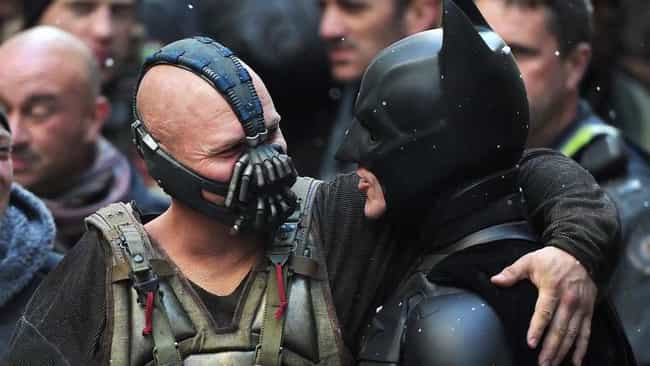 We Cool Bro? is listed (or ranked) 2 on the list The Best Behind the Scenes Photos from The Dark Knight Rises
