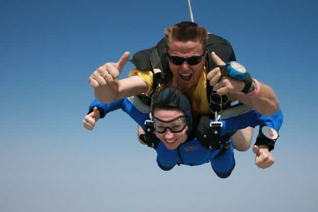 Sky Diving is listed (or ranked) 1 on the list The Best Things To Do For An Adrenaline Rush