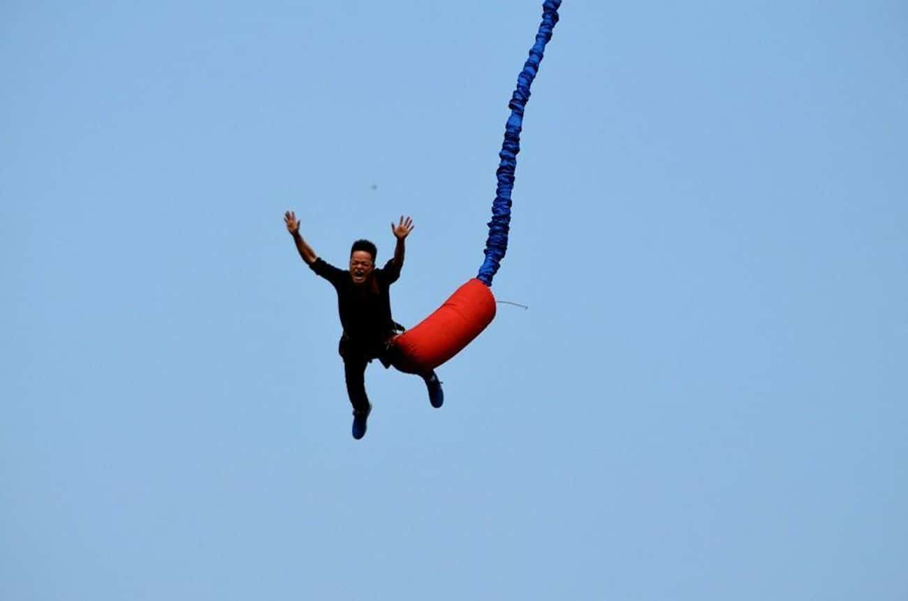 Bungee Jumping is listed (or ranked) 2 on the list The Best Things To Do For An Adrenaline Rush