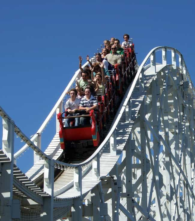 Roller Coasters is listed (or ranked) 3 on the list The Best Things To Do For An Adrenaline Rush