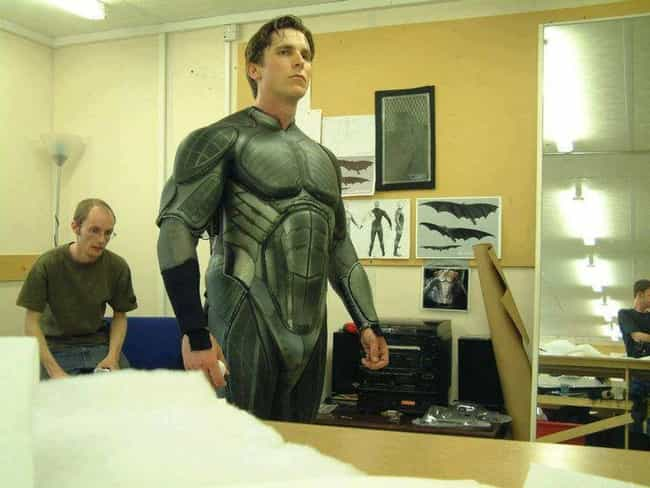 Batsuit Begins is listed (or ranked) 1 on the list The Best Behind the Scenes Photos from Batman Begins
