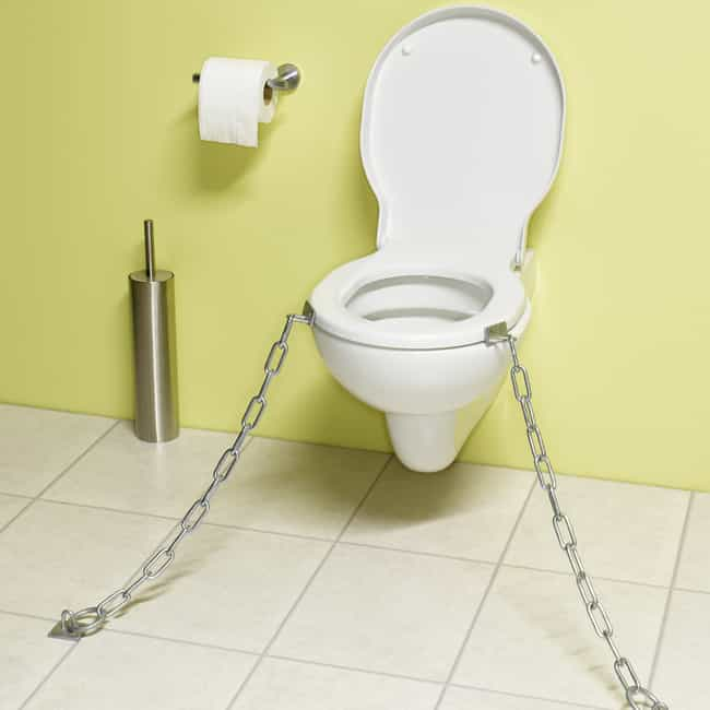 Putting Toilet Seat Down is listed (or ranked) 6 on the list Polite Things You Most Wish People Still Did Regularly