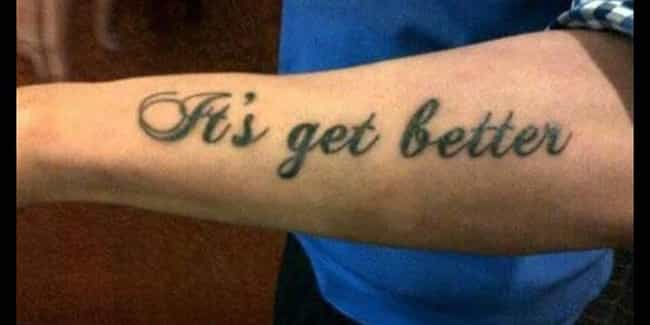 Oh, Is It? is listed (or ranked) 7 on the list The Most Horrifying Tattoo Fails on the Internet