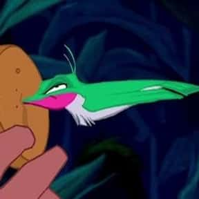 Flit is listed (or ranked) 25 on the list The Greatest Bird Characters of All Time
