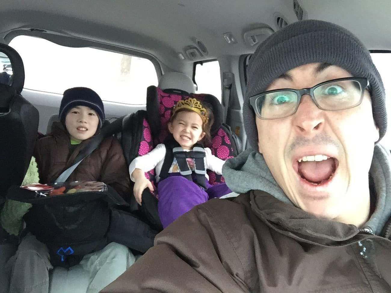The Car-selfie