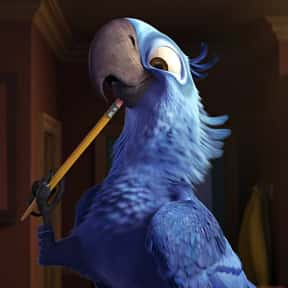 Blu is listed (or ranked) 9 on the list The Greatest Bird Characters of All Time