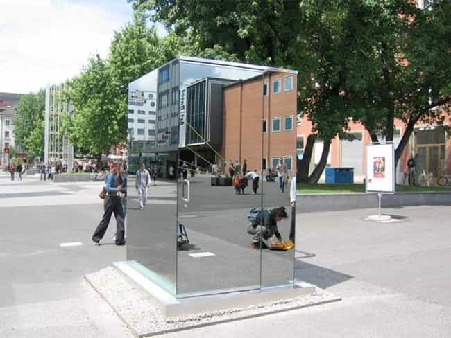 You Can See Out but They Can&#... is listed (or ranked) 2 on the list 20 Bizarre Toilets From Around the World
