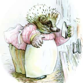 Mrs. Tiggy-Winkle is listed (or ranked) 6 on the list The Greatest Hedgehog Characters of All Time