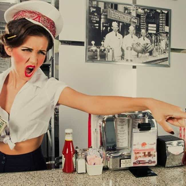 People Reaching Over The Bar T... is listed (or ranked) 4 on the list The 30 Worst Things About Being A Bartender