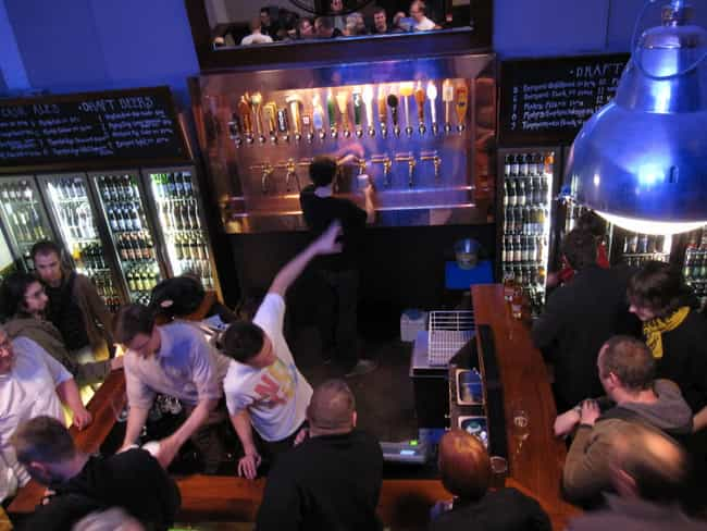 People Reaching Over The Bar T... is listed (or ranked) 4 on the list The 20 Worst Things About Being A Bartender