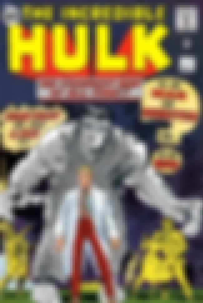 The Incredible Hulk (Vol.1 196... is listed (or ranked) 1 on the list The Best Hulk Interpretations Ever