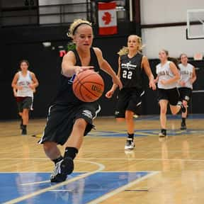 Basketball is listed (or ranked) 5 on the list The Best Team Sports for Girls