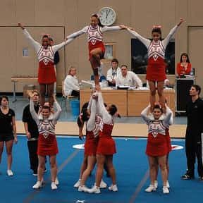 Cheerleading is listed (or ranked) 2 on the list The Best Team Sports for Girls
