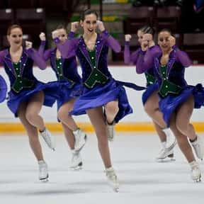 Synchronized Skating is listed (or ranked) 15 on the list The Best Team Sports for Girls