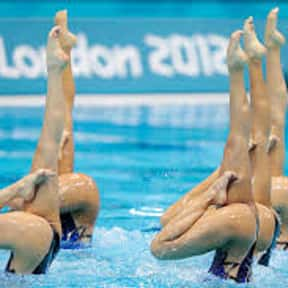 Synchronized Swimming is listed (or ranked) 19 on the list The Best Team Sports for Girls